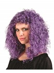 Black/Purple Wig